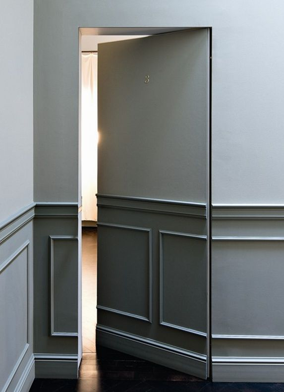 Jib doors simpleandcozylifestyle for Simple room door design