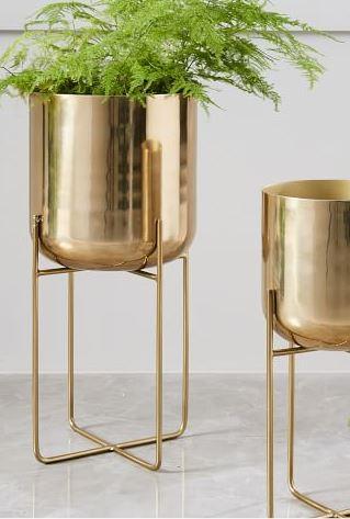Gold Planter